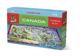 map of canada puzzle discover canada puzzle play sense