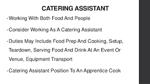 catering assistant jobs gap year jobs in the hospitality industry