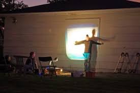 Backyard Outdoor Theater by Backyard Theater Projector People News Photo On Cool Backyard