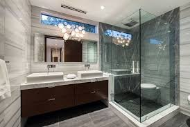 Modern Marble Bathroom Bathroom Design Modern Bathroom With Black And White Marble Tile