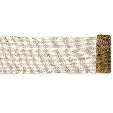 wide mesh ribbon wide mesh gold and silver sparkle tinsel christmas ribbon 6