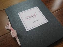 program booklets wedding program booklets with ribbon closure and monogram tag set