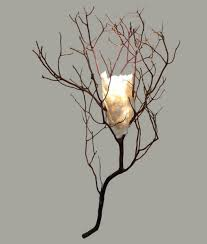 Wall Sconce Uplight Twig Sconce With Handmade Paper Shade Rustic Artistry