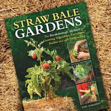 book review straw bale gardens vegetable gardener