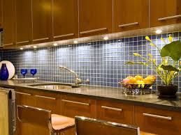 Blue Tile Backsplash Kitchen Blue Tile Backsplash A Blue Square Tile Backsplash Provides A
