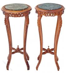 plant stand mahogany plant stand vintage bombay company stand40