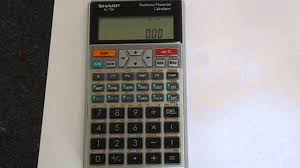 how to reset a sharp el 738 financial calculator youtube