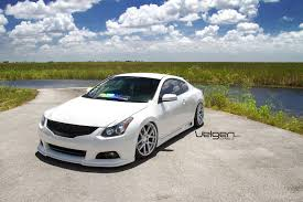 bagged lexus rc bagged nissan altima coupe on velgen wheels vmb5 clublexus