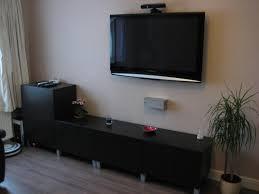 Black Laminate Floor Living Minimalist Bedroom Led Tilt Swivel Television Wall Mounts
