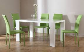 Wonderful Modern White Dining Room Sets That Will Delight You D - Black and white contemporary dining table