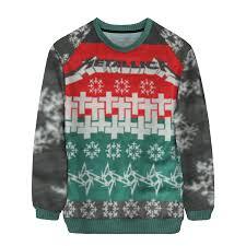 metal christmas metallica unisex sweater heavy metal christmas