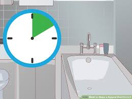 How To Make Your Own Bathroom Cleaner 4 Ways To Make A Natural Disinfectant Wikihow