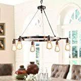 amazon com rustic chandeliers ceiling lights tools u0026 home