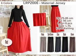 rok panjang muslim grosir baju online tangan pertama rok panjang muslimah lrp2006