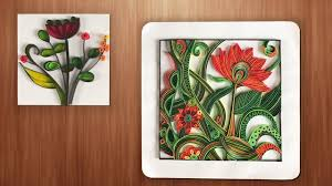 Wall Decorating Quilling Designs Wall Decorating Ideas Diy Paper Crafts Youtube