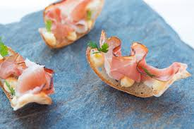 canape recipes puccia bread chips recipe great chefs