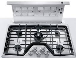 36 Inch Cooktop With Downdraft Electrolux Ei36dd10ks 36 Inch Downdraft Ventilation System With