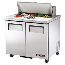 36 inch sandwich prep table true tssu 36 08 36 sandwich salad prep table w refrigerated base 115v