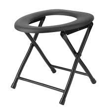 chaise perc e pliante chaise percée pliante pour wc toilette siège portable achat