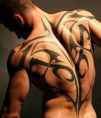 24 back tribal tattoos