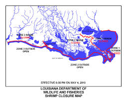 Louisiana On Map by State Of Louisiana Updates Public On Fishing Closures In The Gulf