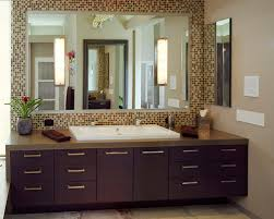 Frame Bathroom Mirror by Marvelous Mosaic Tile Framed Bathroom Mirror For Furniture Home