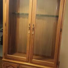 Wood Gun Cabinet Find More Price Reduced Amish Made Solid Wood Gun Cabinet W Locks