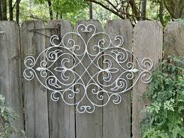 decor 19 outdoor wrought iron wall decor wall plaques outdoor