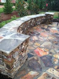 74 best patios images on pinterest flagstone patio backyard