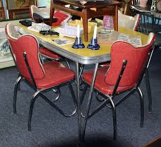 1950s kitchen furniture c dianne zweig kitsch n stuff 1950s formica and chrome tables