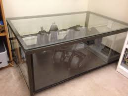 Glass Display Coffee Table Ikea Granas Coffee Table Become Awesome Display Page Images