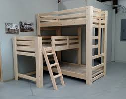 Bunk Bed For Small Room Plans Of Space Saving Bunk Beds For Small Rooms Attach The