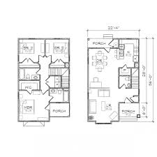 narrow cottage plans 12 populer house plans for small lots a narrow lot dazzling ideas