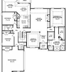 Ranch Floor Plans With Basement by Modular Home Plans Likewise 4 Bedroom Ranch House Plans With