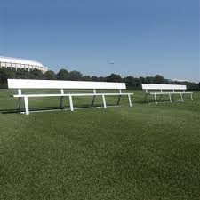 Athletic Benches Aae Athletic Sports Field Benches Shelters U0026 Bleachers Aluminum