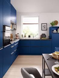 matte navy blue kitchen cabinets modern kitchen design ideas by schuller german kitchens