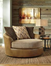 Swivel Living Room Accent Chairs Declain Oversized Swivel Accent Chair