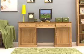 conran solid oak modern furniture large hidden home office pc