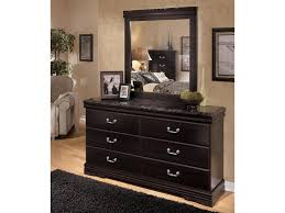 Ashley Bedroom Set With Marble Top Signature Design By Ashley Esmarelda 6 Drawer Dresser With Faux