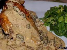 cuisiner le coquelet coquelets aux morilles et sa sauce suprême au gewurztraminer