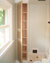 Built In Bathroom Cabinets Likeable Built Ins Niche Bathroom Cabinet On Built In Cabinets