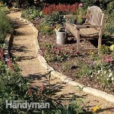 Ideas For Garden Walkways Affordable Garden Path Ideas Family Handyman