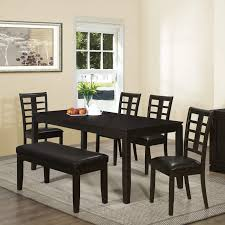 Green Velvet Dining Chairs Squeeze Your Guest With Dining Room Settee Ideas Black Paint Color