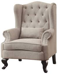 Beige Accent Chair Willow Beige Accent Chair From Furniture Of America Coleman