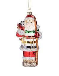 hbc hbc glass santa ornament hudson s bay seasonal