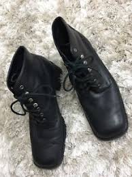 s lace up boots size 9 s mootises tootsies black leather lace up boots size 9 ebay