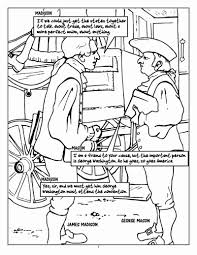 constitution day coloring page free download