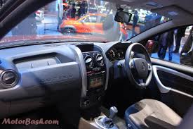 renault duster 2014 interior renault duster india interiors pics new duster facelift launched