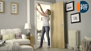 B And Q Exterior Doors by Easy Fit Interior Door Kit Youtube