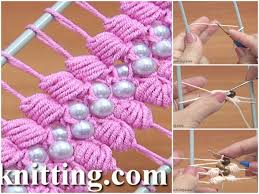 hairpin lace crochet hairpin lace crochet puff stitch tutorial crochetbeja